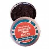 Rubber trim balm and reconditioner