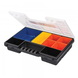 Component case and organiser 8 compartments