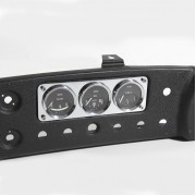 3 Gauge mounting  MG replaces radio blanking plate - CHROME