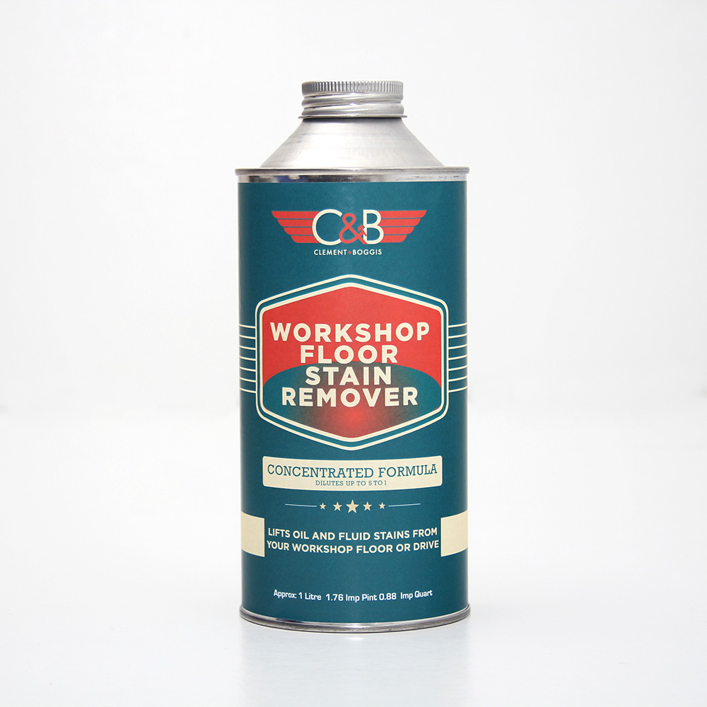 Workshop floor stain remover for Driveway stain remover